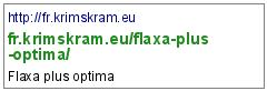 http://fr.krimskram.eu/flaxa-plus-optima/
